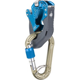 Climbing Technology Click-Up + Kit Asegurador / Descensor, blue